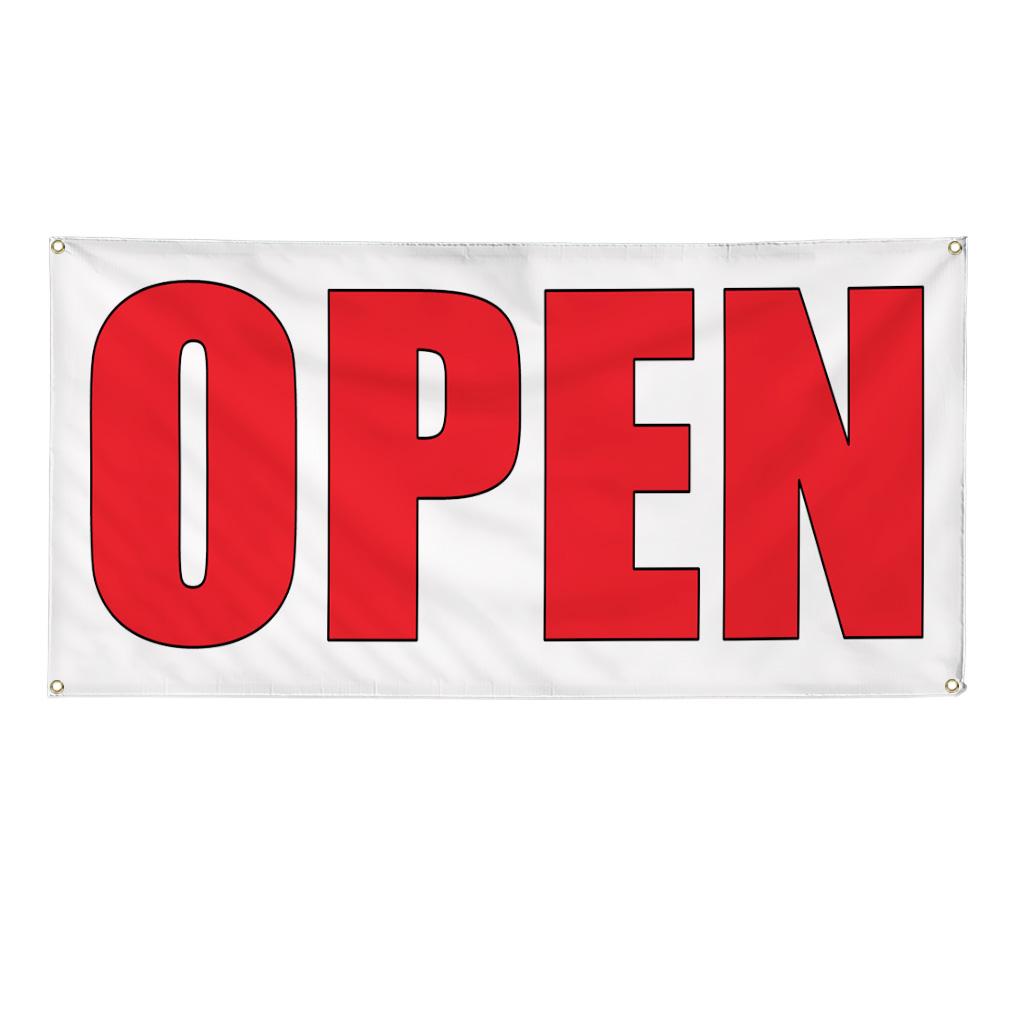 Open Auto Body Shop Car Repair Banner Sign 4 Ft X 2 Ft W