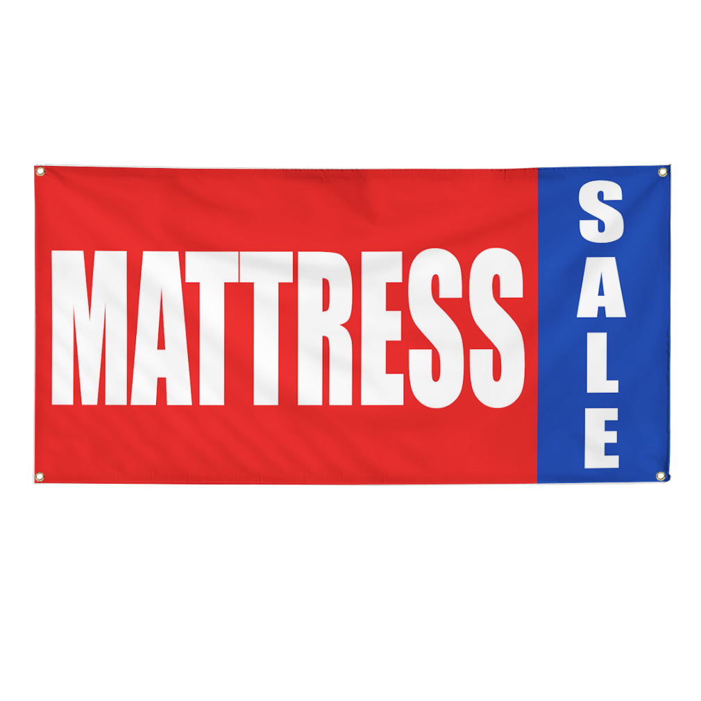3 x 6 full color indoor banner w rope item dy busines c