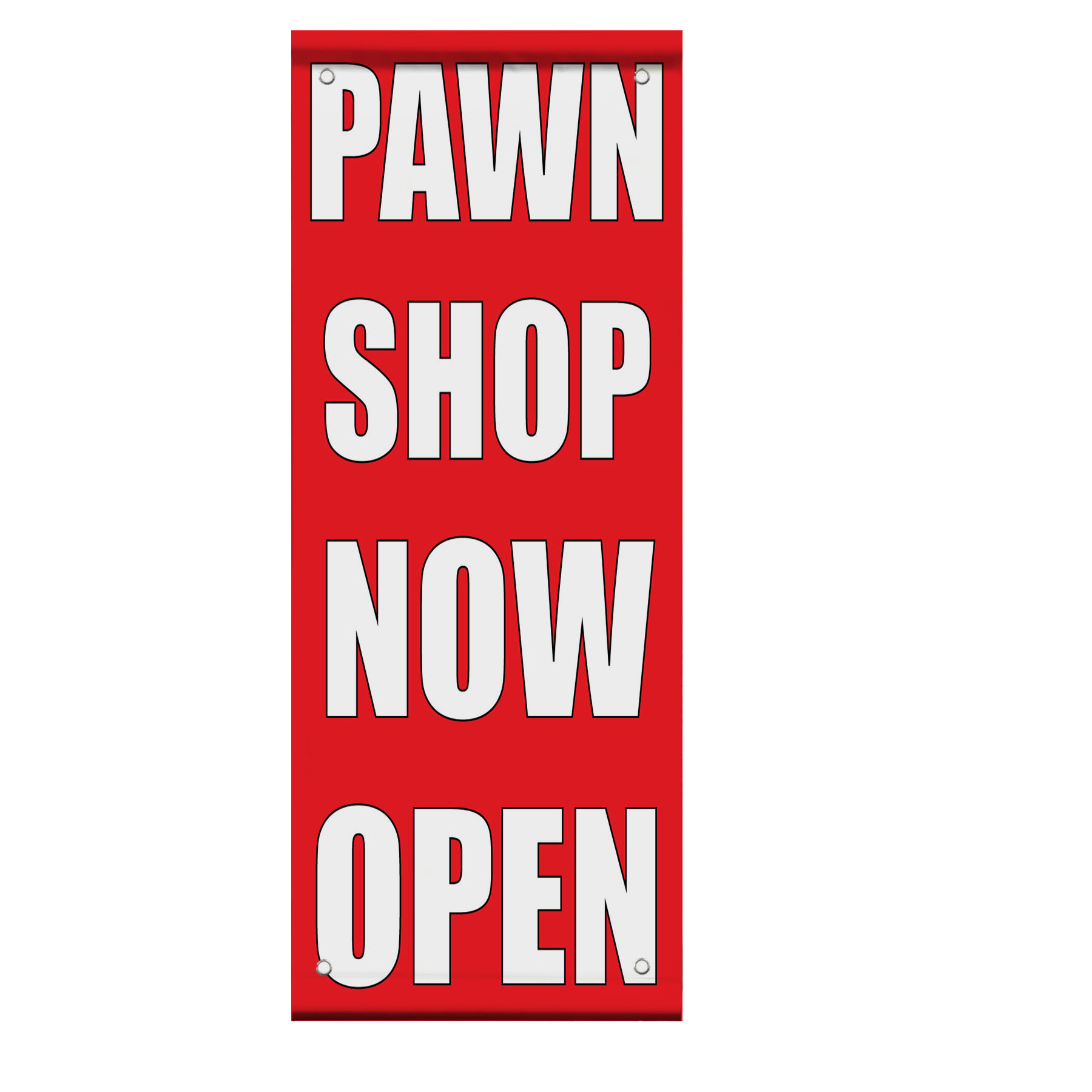 Pawn Shop Now Open Double Sided Vertical Pole Banner Sign. Friend Stickers. Small Flags. Beige Girl Banners. February 9th Signs Of Stroke. Samurai War Banners. Pyrography Lettering. Saints Logo. Design Letter Lettering