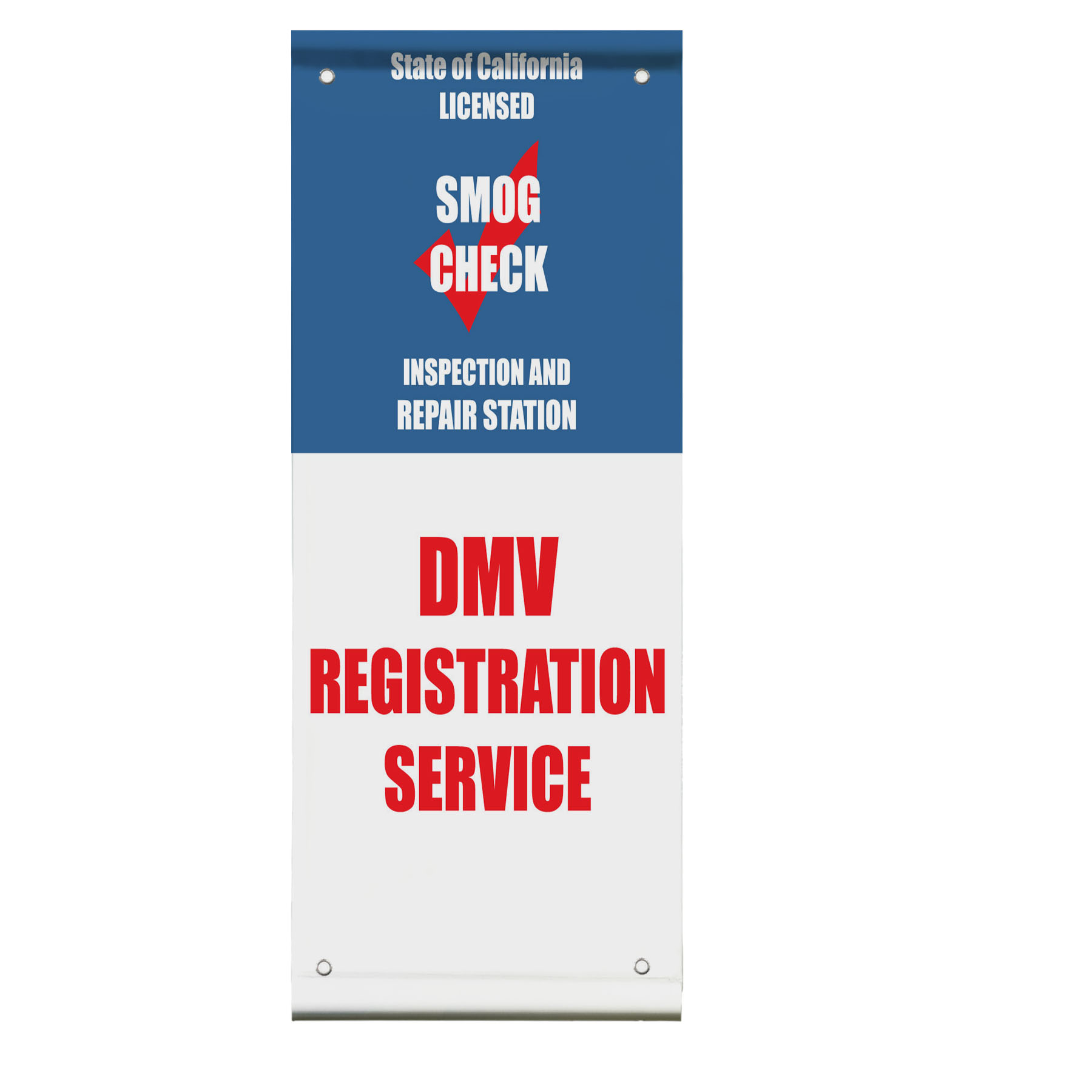 Dmv Registration Service Smog Check Inspection Double