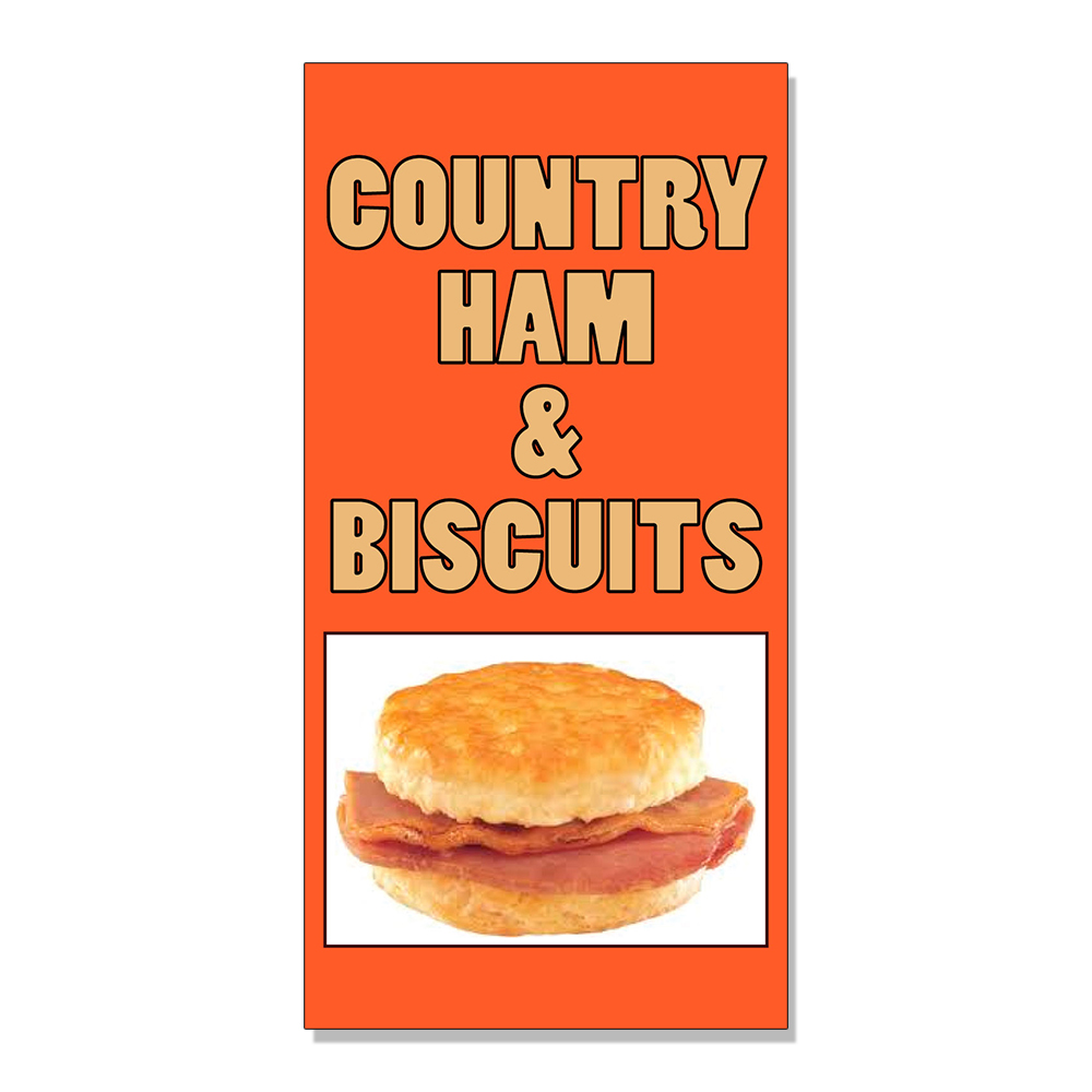 COUNTRY HAM & BISCUITS Food Fair Restaurant Cafe DECAL ...