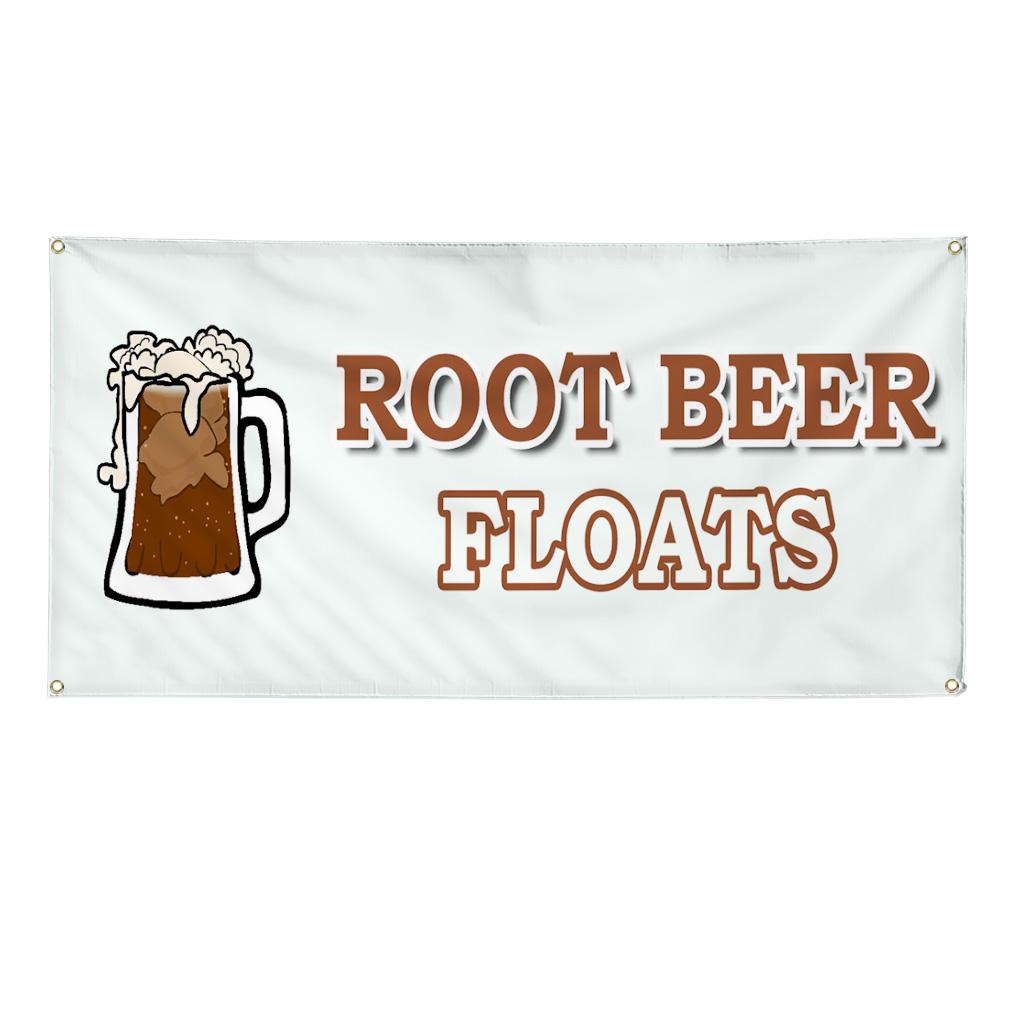 Root Beer Floats Food Fair Truck Restaurant 4 Ft X 8 Ft
